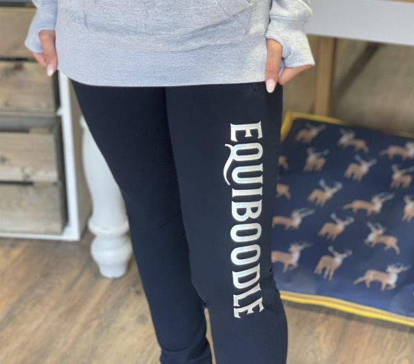 Equiboodle Show Joggers - Navy/Shimmer